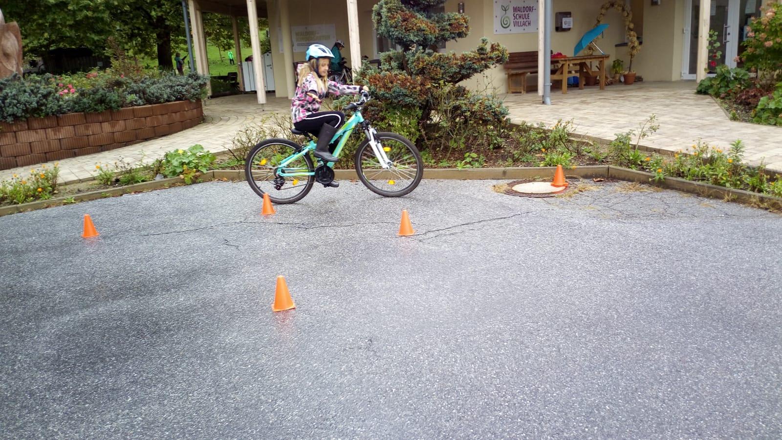 Vorbereitung zum Radführerschein für die 3. und 4. Klasse