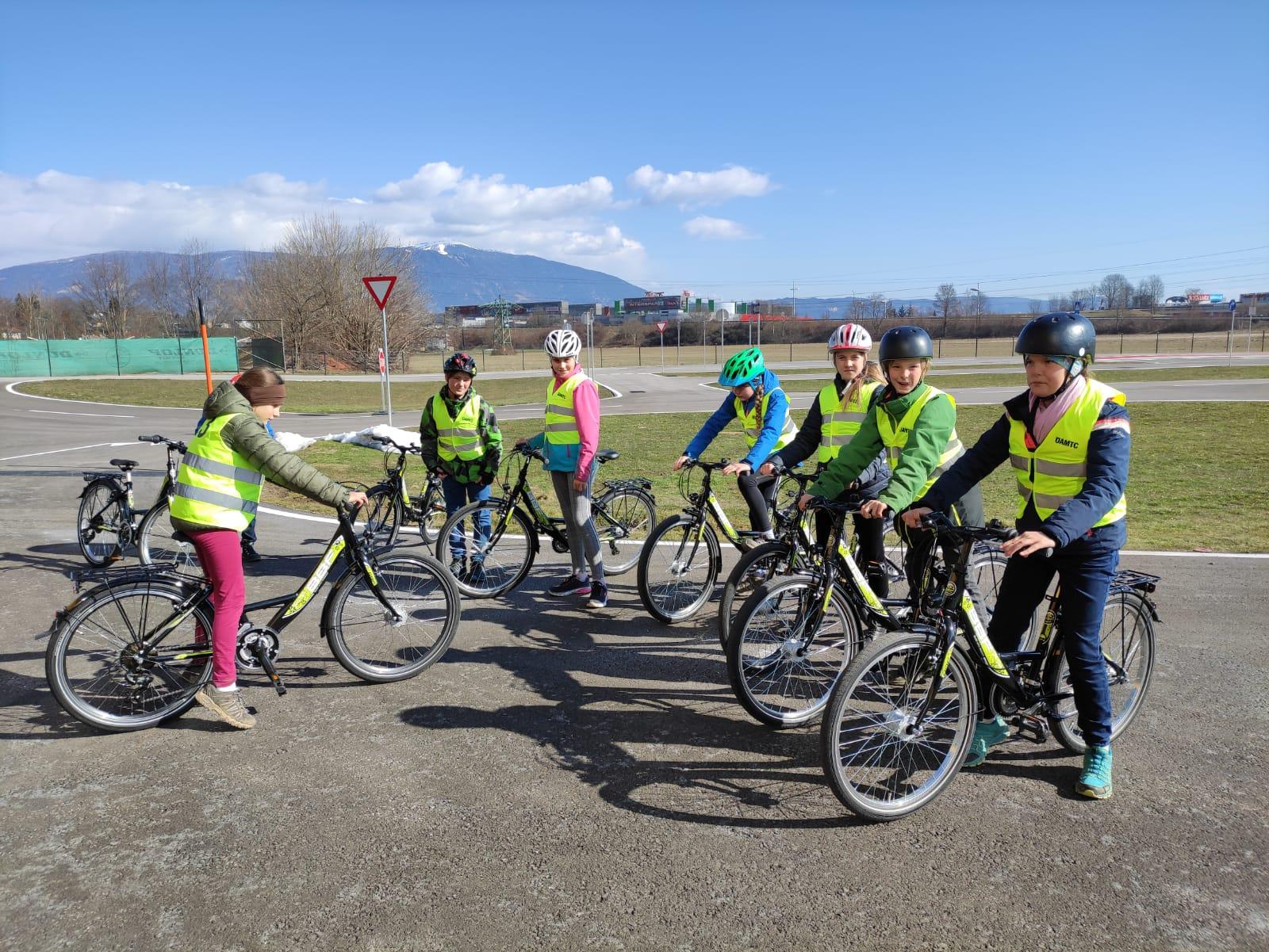 Vorbereitung zur Fahrradprüfung