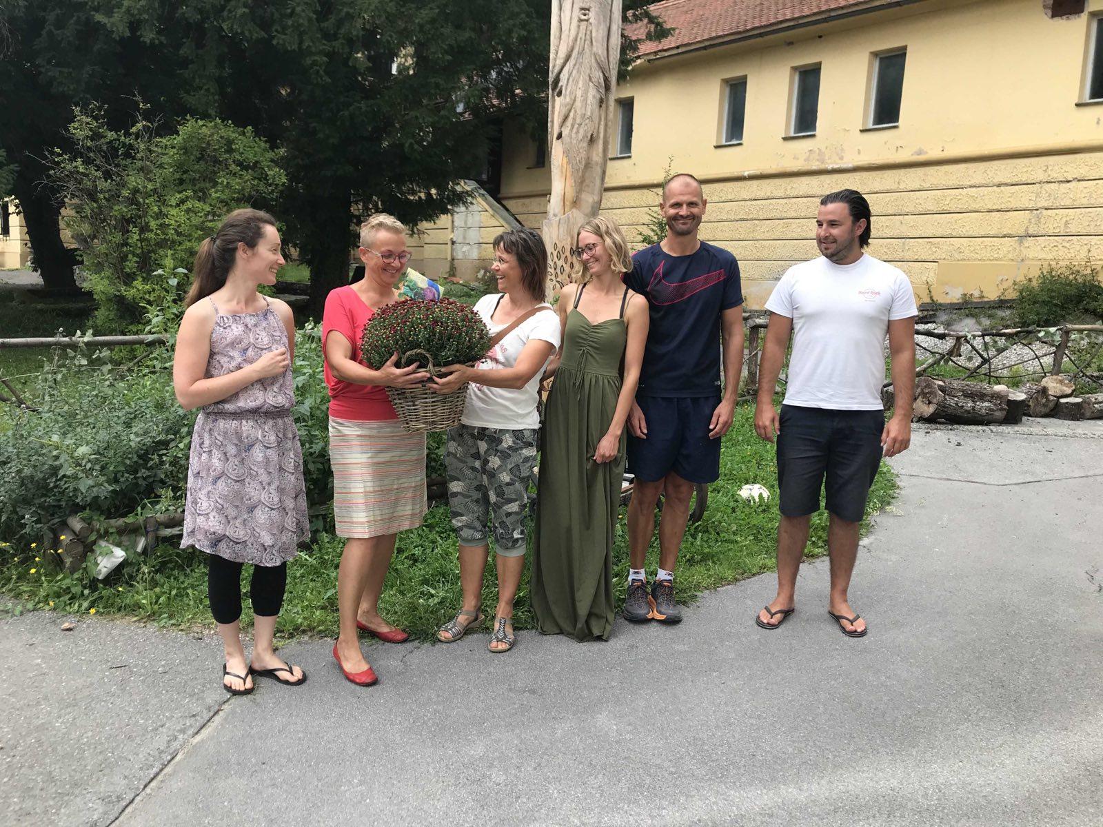 Partnerschaft mit der Waldorfschule in Bled besiegelt